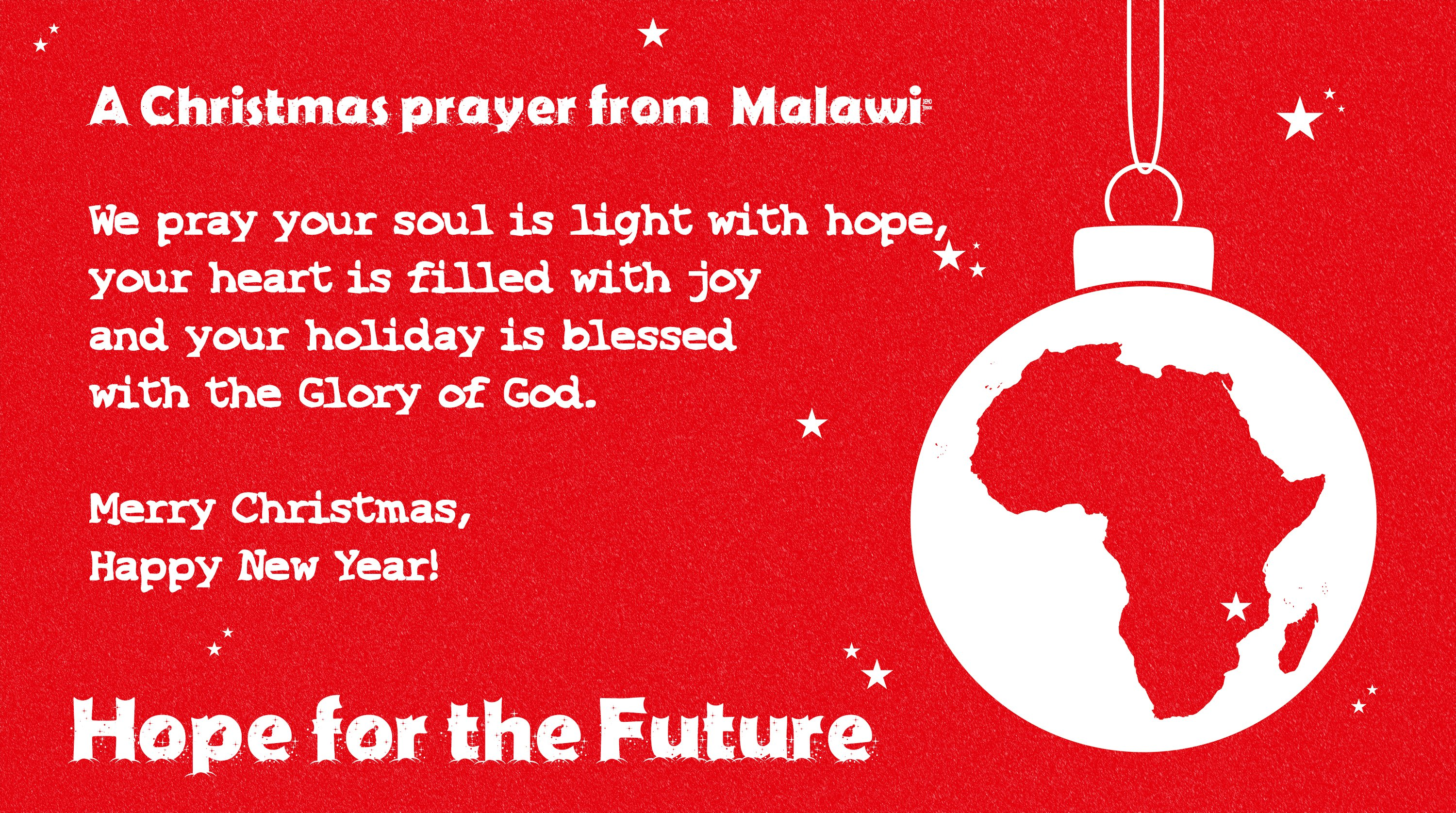 Christmas 2016 from Malawi