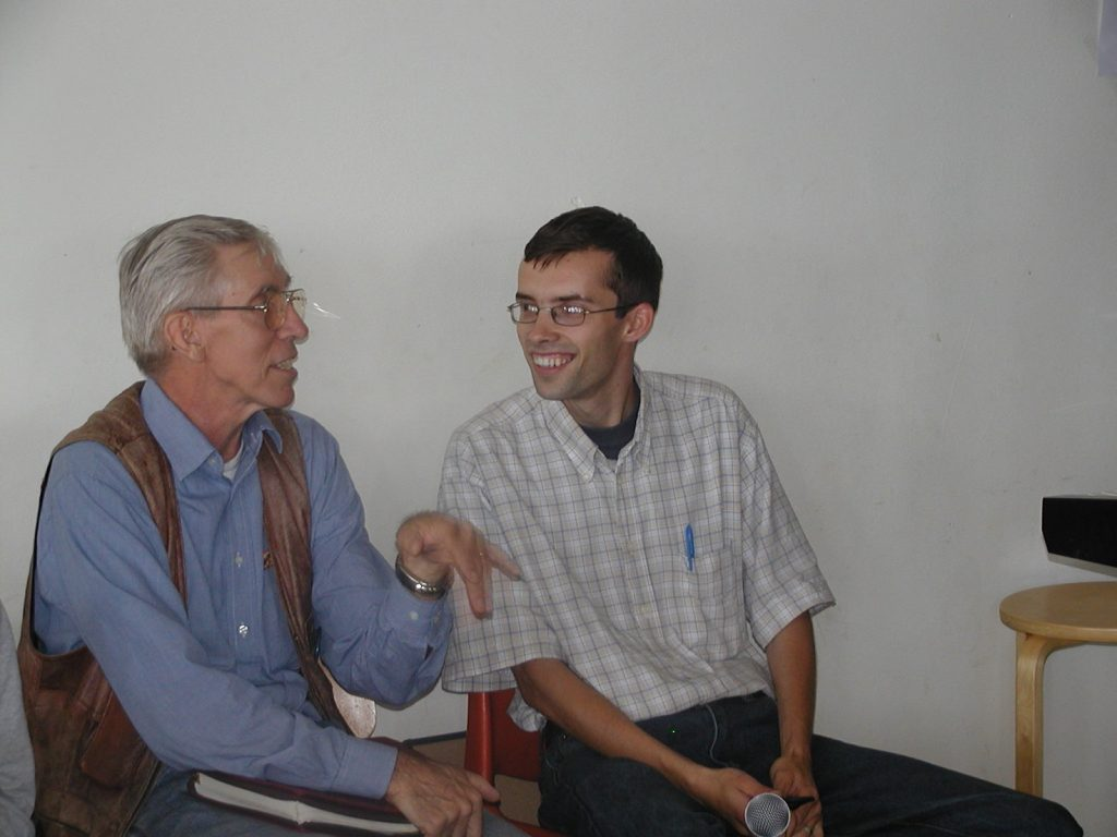 Tom Gentry and I, in 2008, right before we came to Malawi